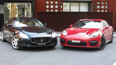 Maserati or Porche
